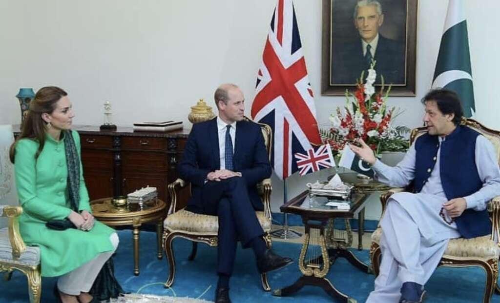Pakistan, Imran Khan, Kate, Prince william, UK royal couple visit Pakistan, Islamabad