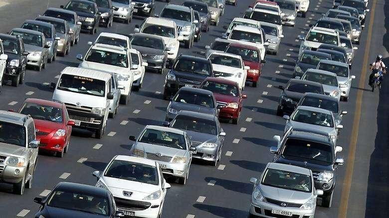 Monday morning rush hour clogs Dubai-Sharjah roads