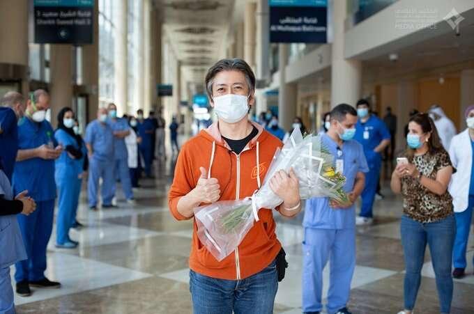 dubai trade centre, field hospital, covid-19, coronavirus