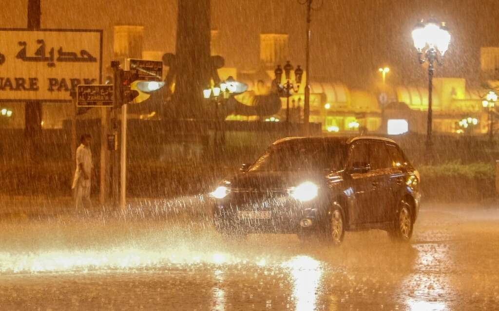 High Waves To Hit Uae Rain Forecast For Parts Of The