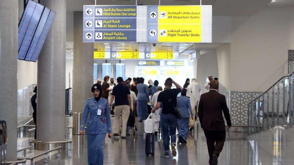 abu dhabi airport, coronavirus, covid19, uae flights suspended, uae visas banned