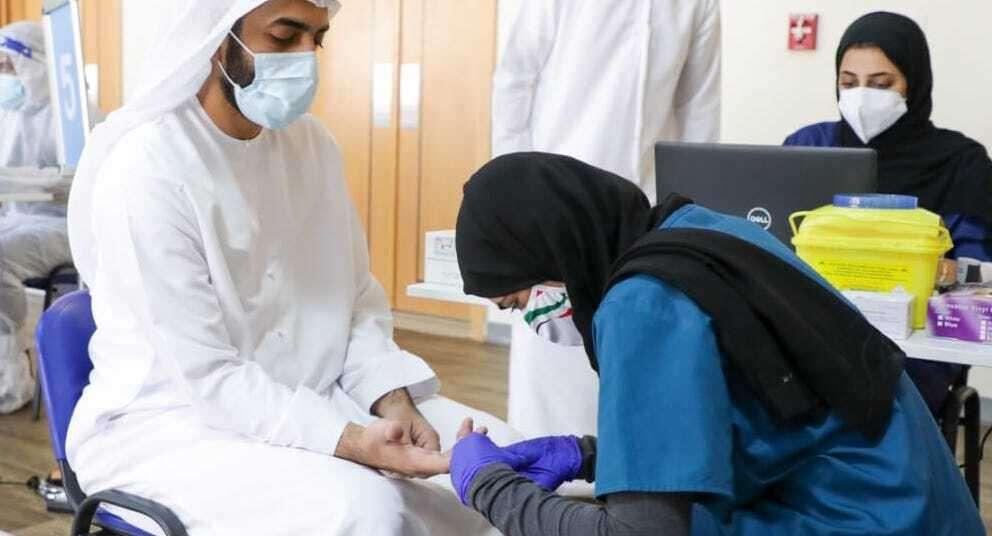 uae, covid, testing centres, dubai, abu dhabi, vaccine, laser test