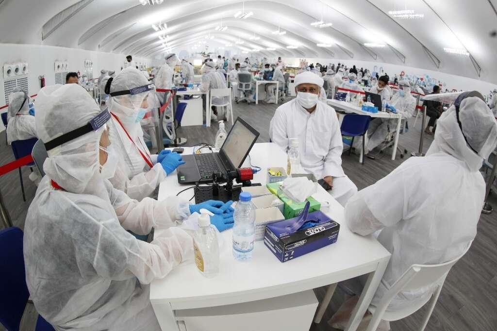 abu dhabi, covid-19 screening, dubai, coronavirus