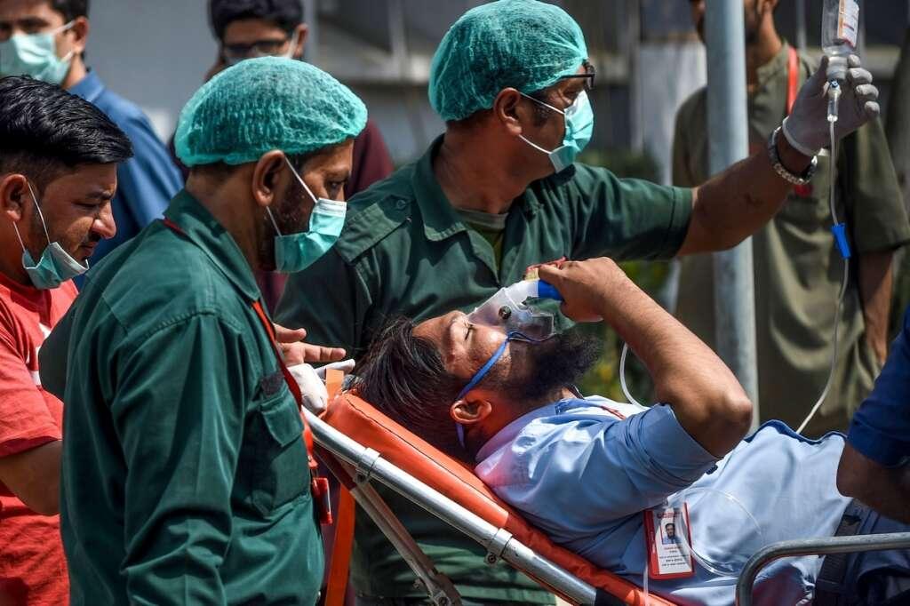 pakistan, karachi gas leak, kemari