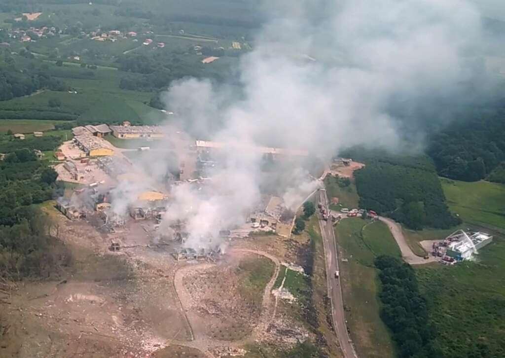 turkey, fireworks factory, explosion