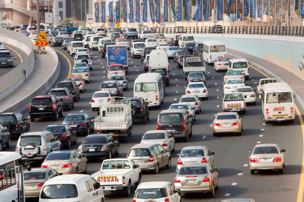 uae, dubai traffic, abu dhabi
