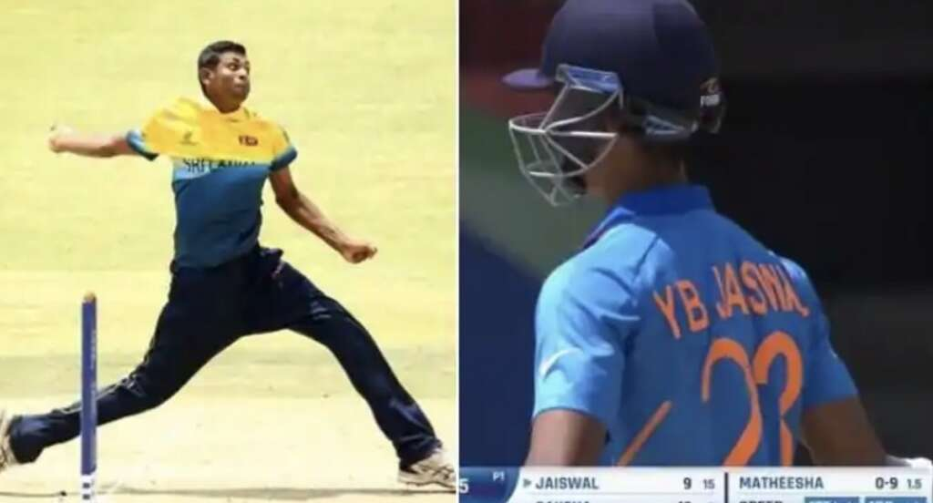 Matheesha Pathirana, sri lanka, under-19 world cup, india