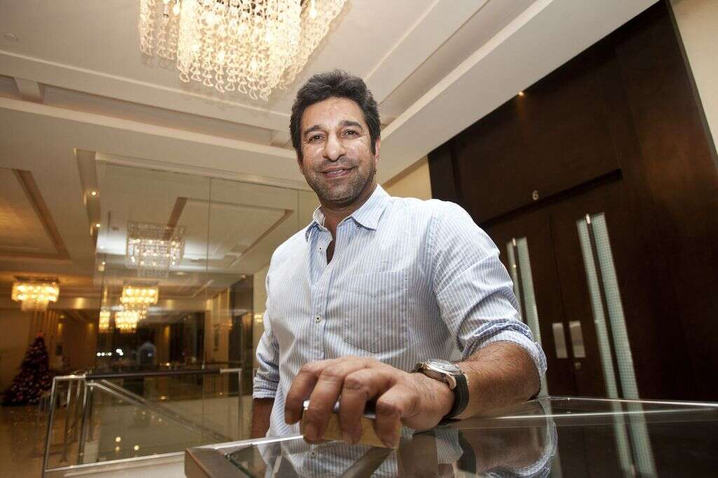 Wasim Akram bats for road safety in country