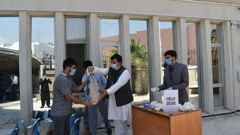 pakistan consulate, dubai sterilisation, uae fights covid19, coronavirus pandemic