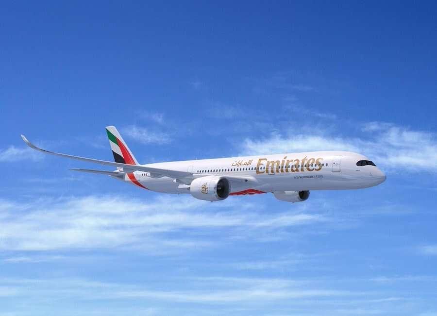 Emirates, airbus, A350, dubai airshow 2019