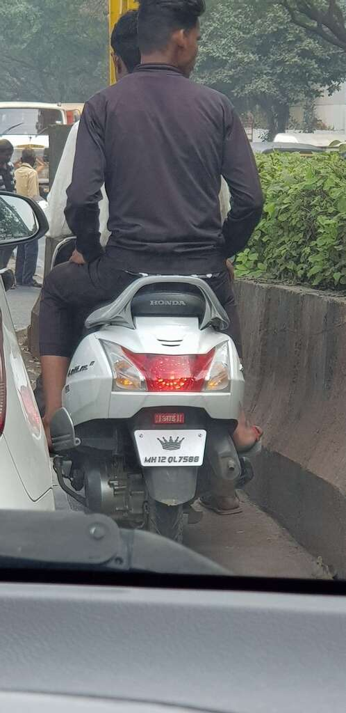 pune traffic fine, viral photo, india, offbeat news