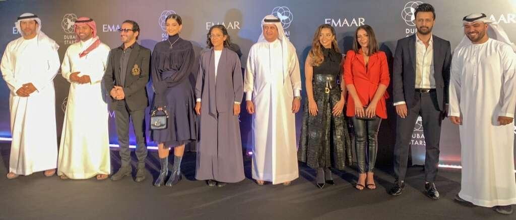 Sonam Kapoor, Balqees, atif Aslam, at the Dubai Stars