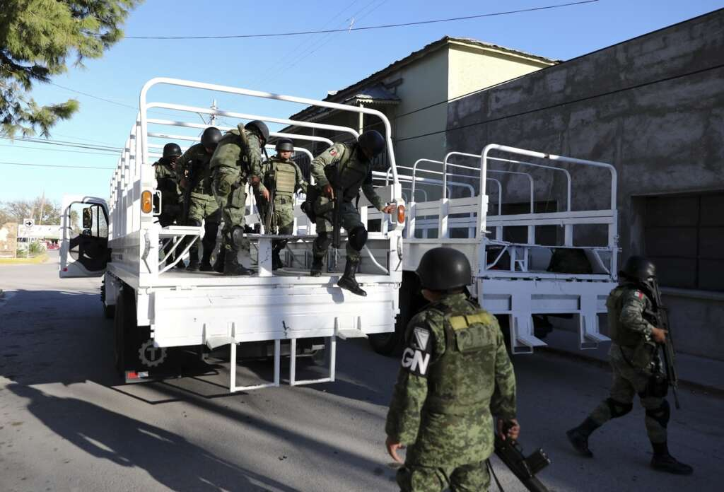 mexico drug cartel raid, Coahuila