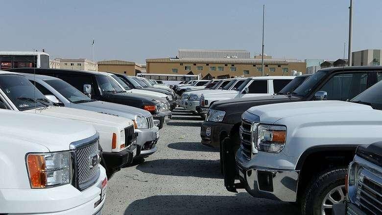 uae traffic fines, modified cars