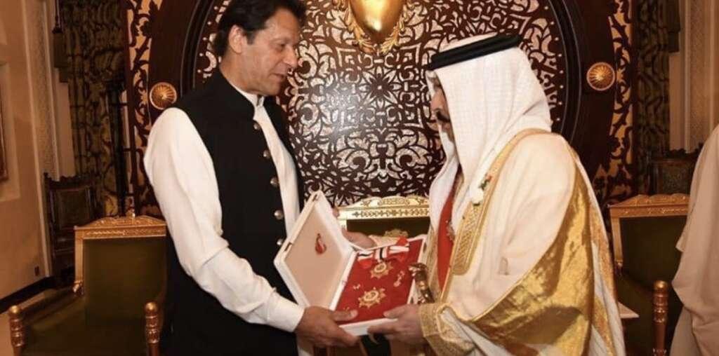 Imran Khan, Pakistan, Bahrain highest civil honour, bahrain national day