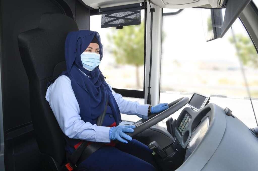 dubai female bus drivers, rta, uae