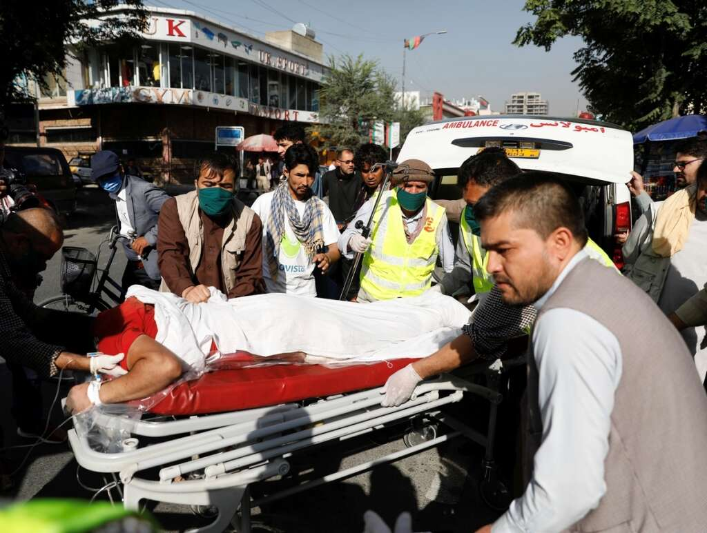 afghanistan, kabul, blast, amrullah saleh