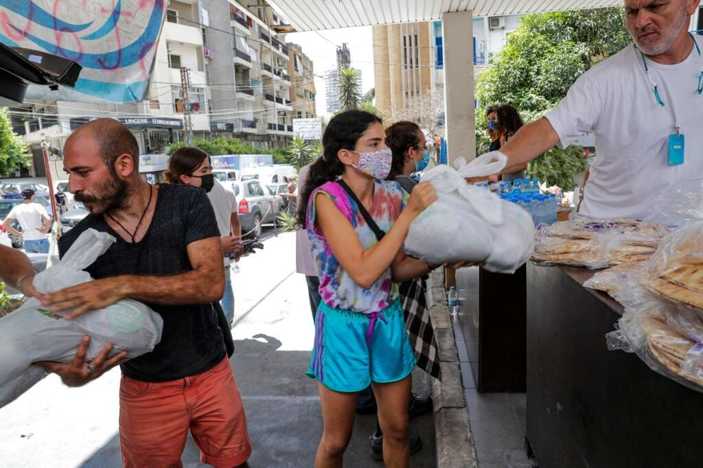Lebanon, beirut blasts, food