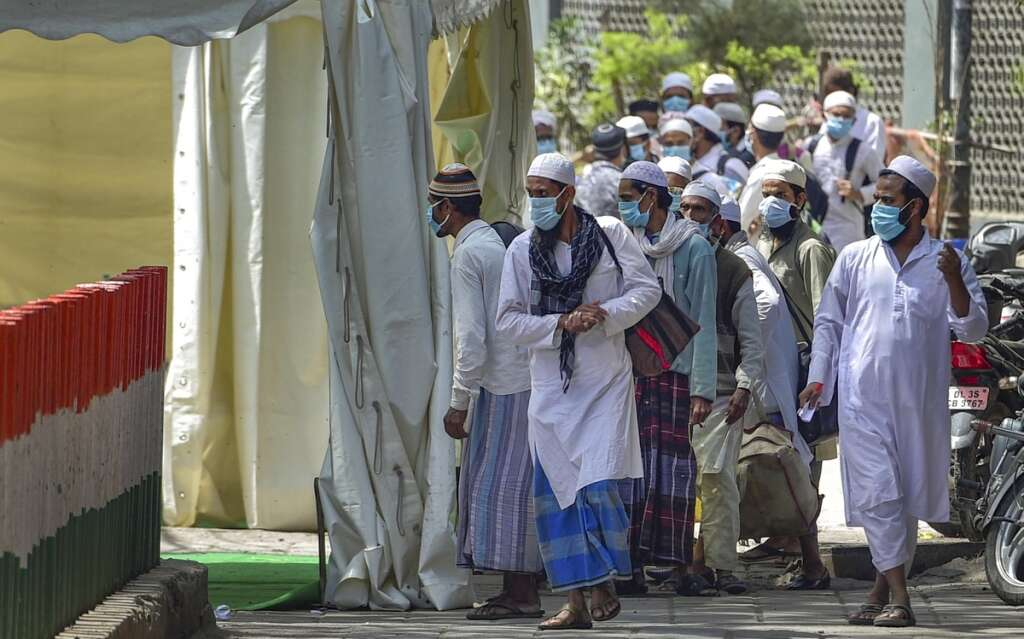 covid in india, tableeghi jamaat infected