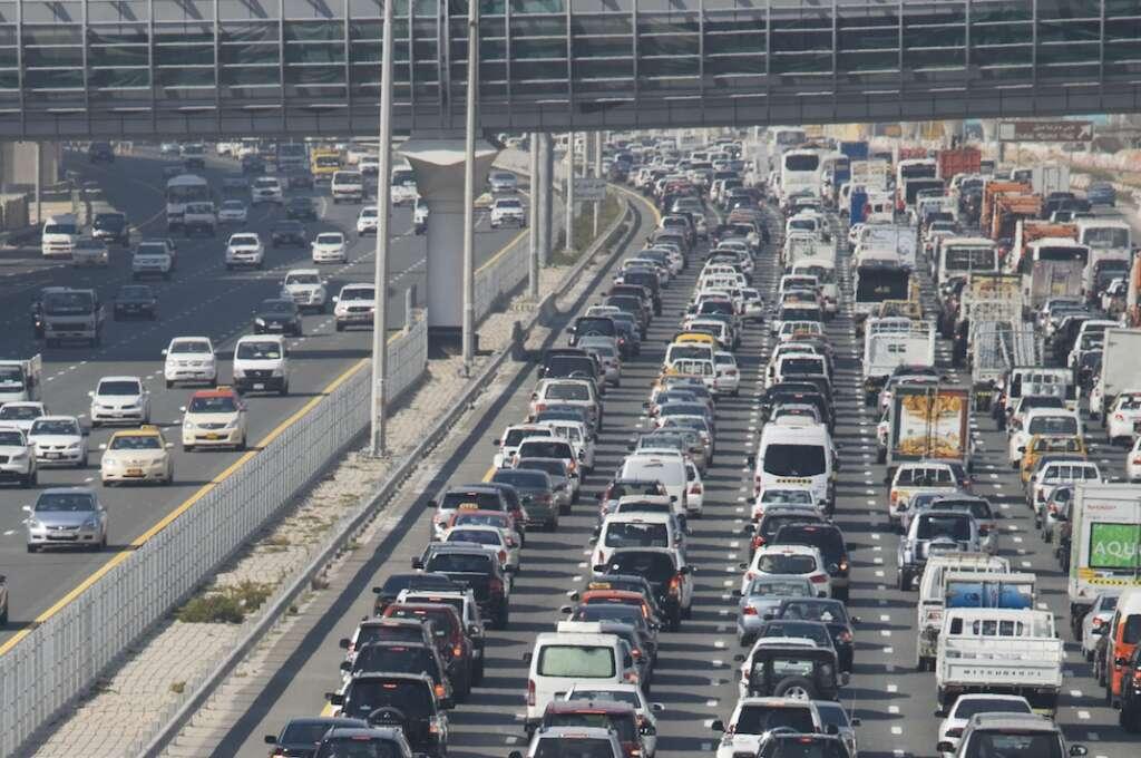 traffic, dubai, sharjah