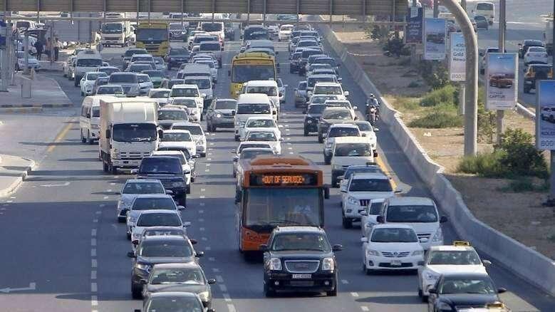 uae traffic, dubai traffic, sharjah traffic