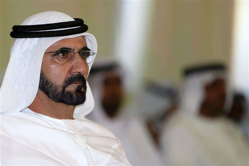 sheikh mohammed, dubai ruler, king salman saudi