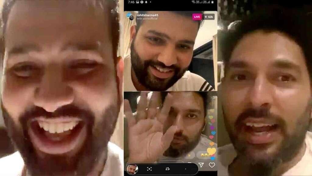 yuvraj singh, rohit sharma, india cricket, coronavirus lockdown, Yuzvendra Chahal