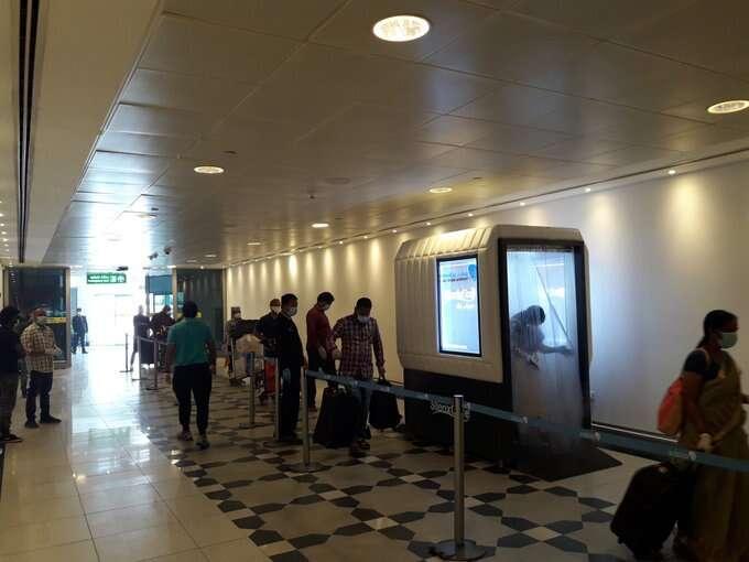 abu dhabi, uae, airport, covid, coronavirus