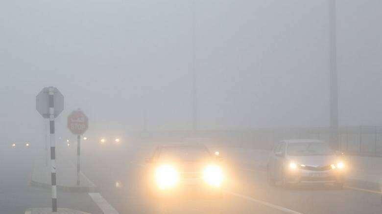 fog, uae, dubai, weather alert, traffic alert