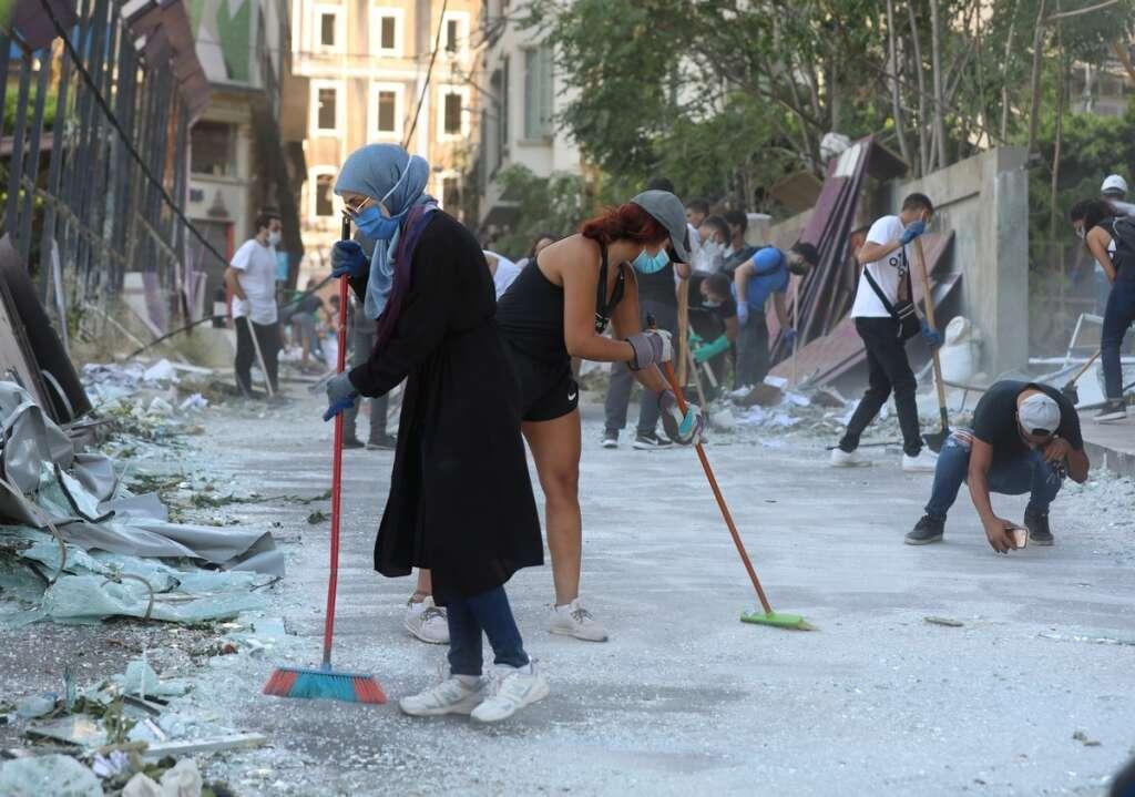 lebanon, beirut blasts, explosions, uae aid
