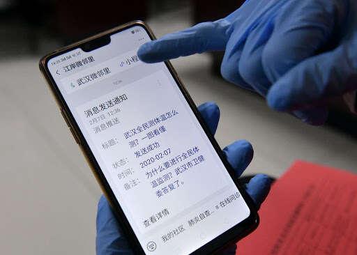 coronavirus close contact app, china, wuhan