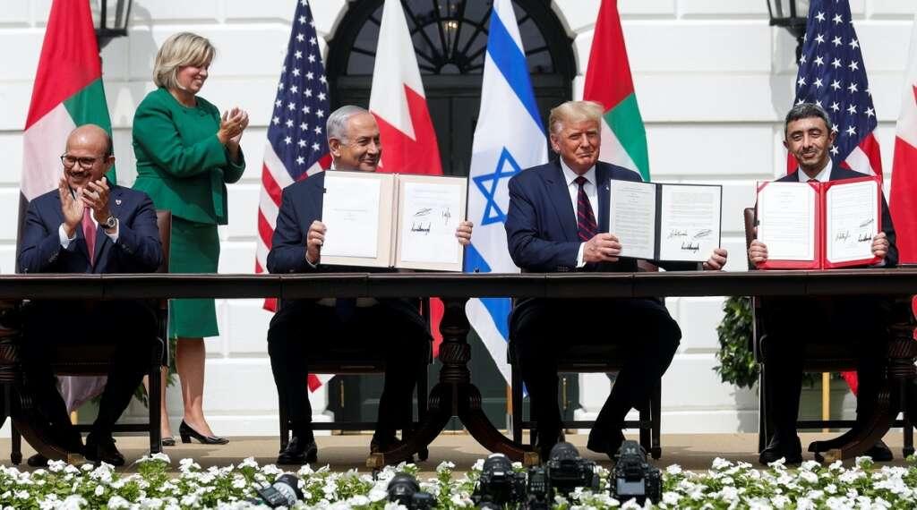 uae, bahrain, israel, trump, abraham accord, declaration, jared kushner
