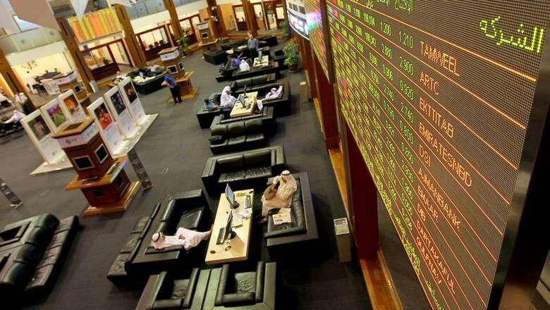 dubai stocks, financial market, covid-19