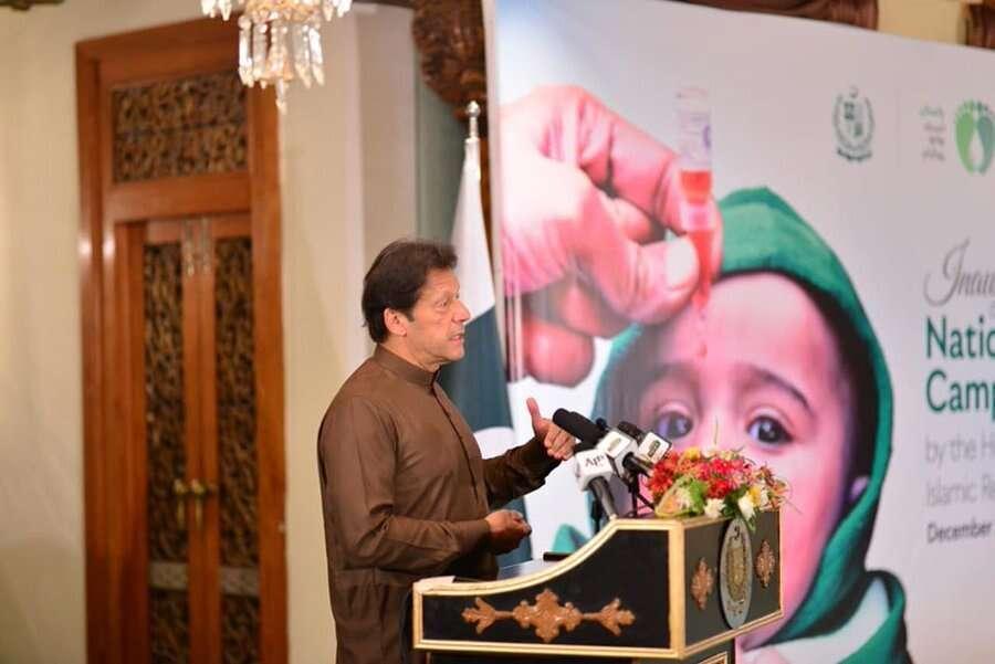 imran khan, pakistan, polio, pti, UAE programme