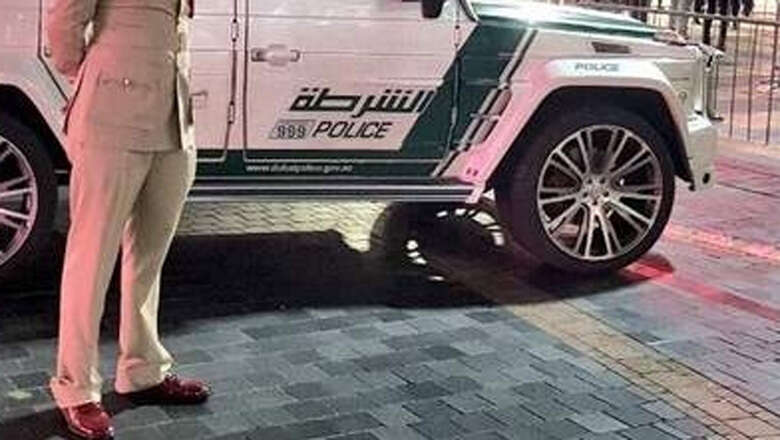 man beats up dubai police, dubai laws. dubai crime