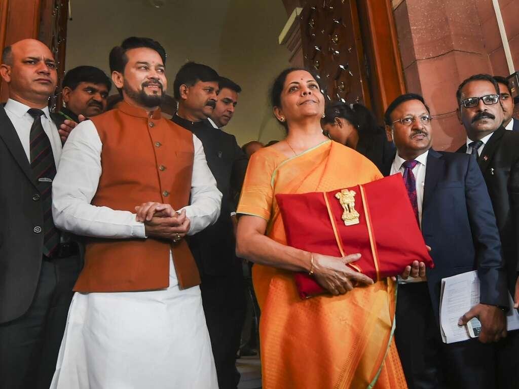 India budget, sitharaman, tax cuts, modi, bjp, budget 2020