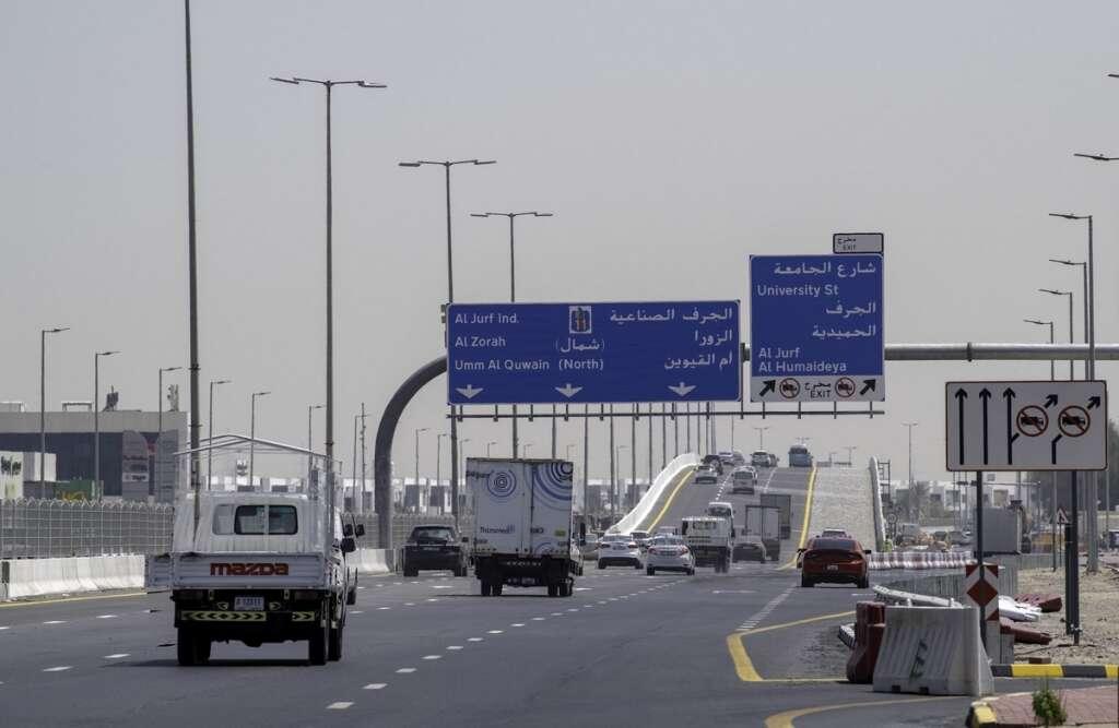 uae roads, uae traffic