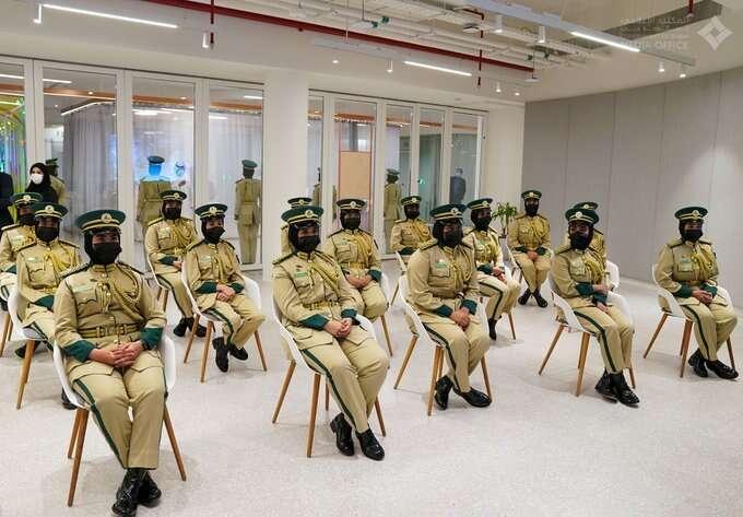 dubai, female cops, sheikh hamdan