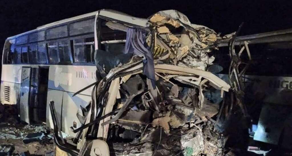 bus crash, algeria