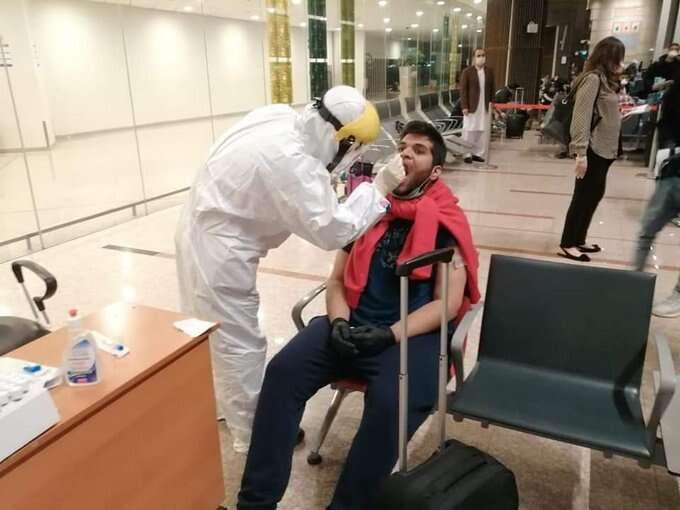 Pakistan, coronavirus pandemic, covid19 outbreak, swab test