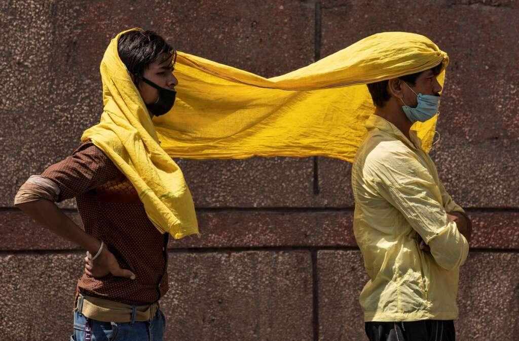india, heatwave, new delhi,covid, modi