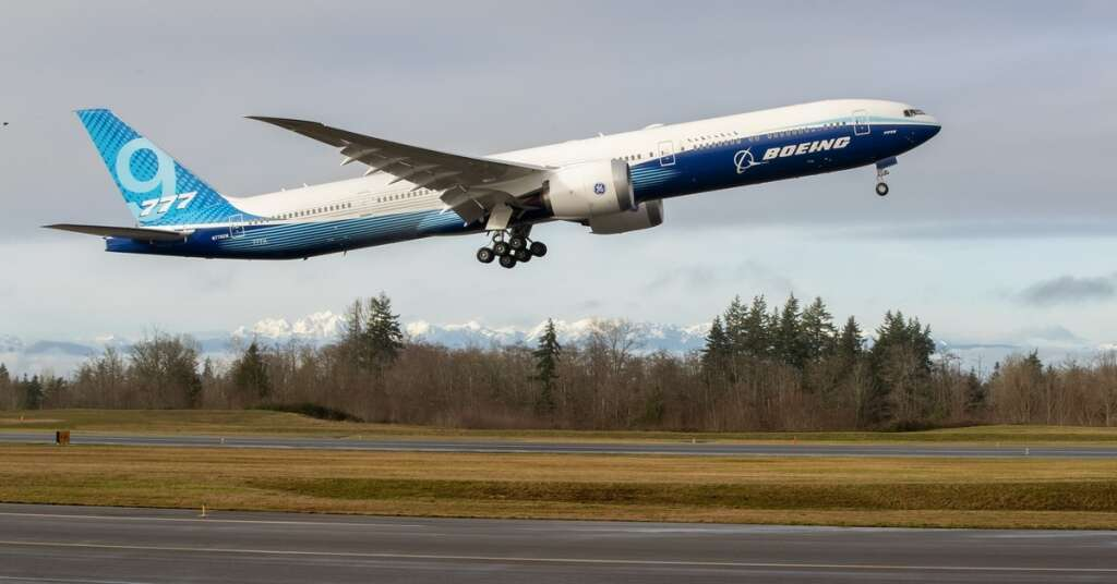 boeing 777x, twin jet plane, airbus, 737 max