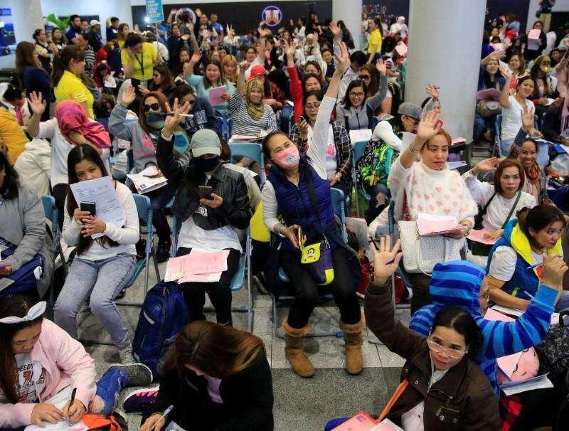 philippines, OFWs, filipino workers, cash aid, china travel ban, coronavirus, covid-19