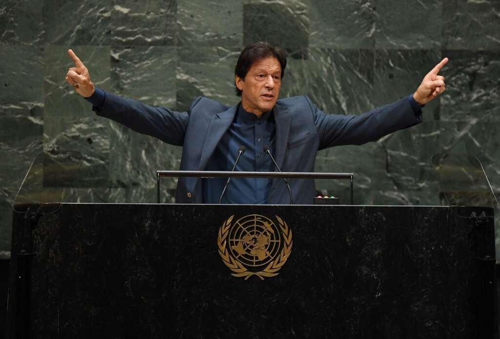 imran khan UNGA speech, pakistan, india, modi, kashmir