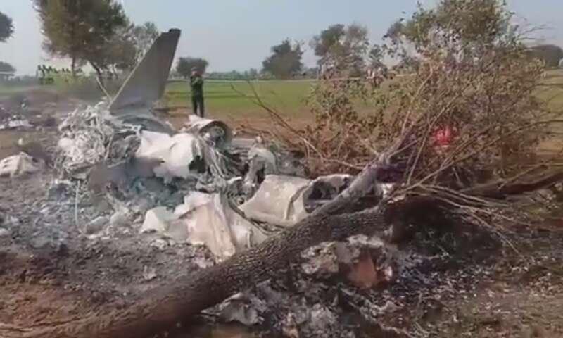 pakistan air force, plane crash, paf