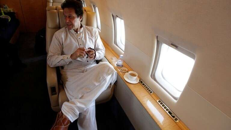imran khan plane, pakistan, un, saudi jet, new york