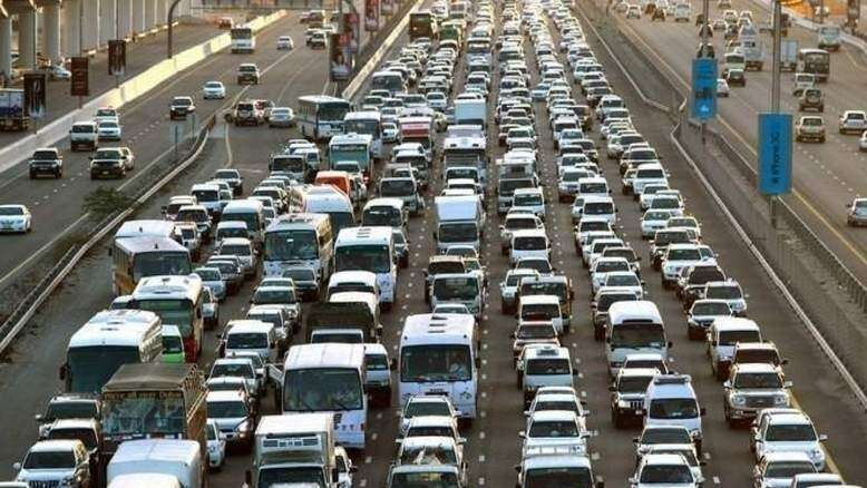 dubai, sharjah road closed, roadworks in uae, construction in uae, expo 2020 dubai