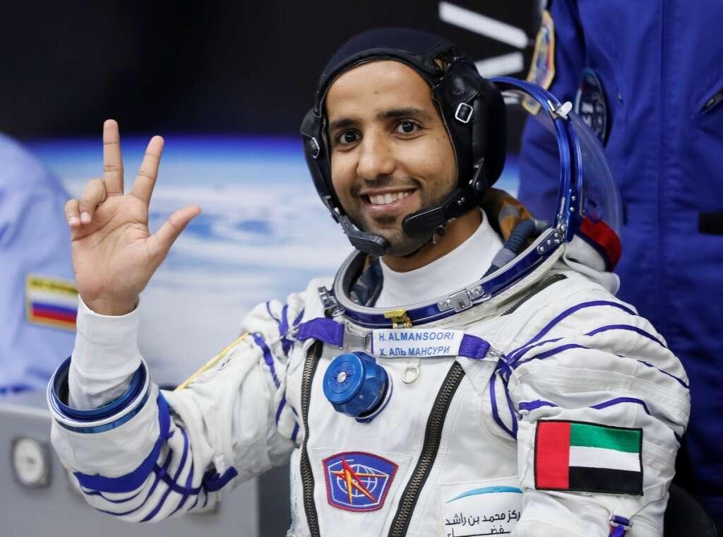 Hazza Al Mansouri, UAE astronaut, Oman National Day