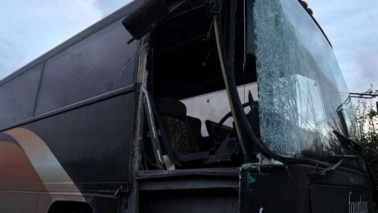 india, school bus fire, jharkhand, students escape