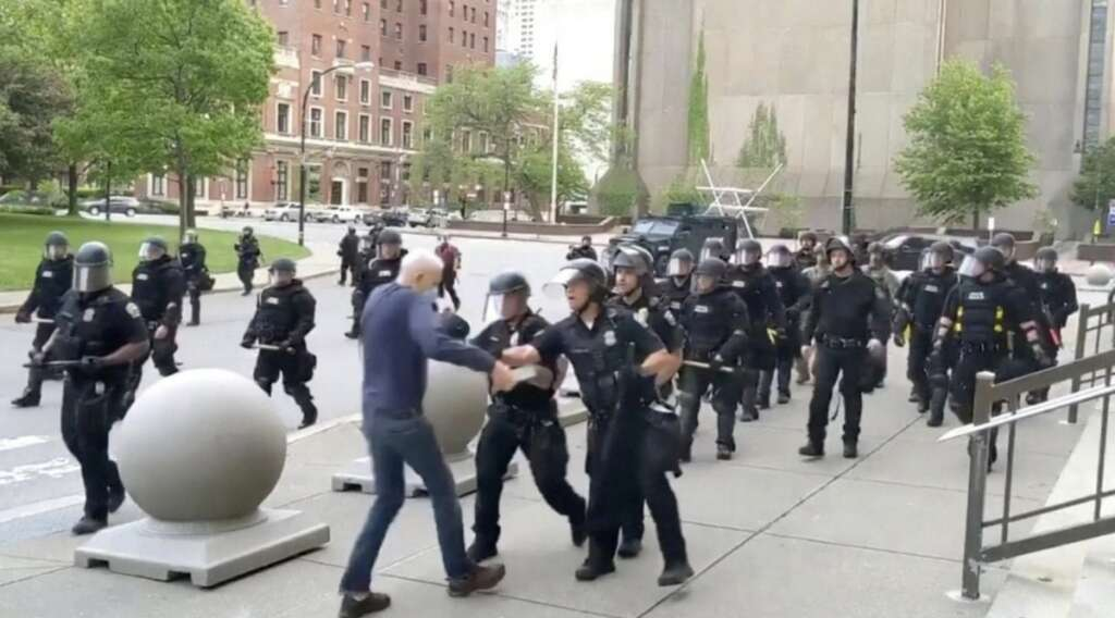 george floyd protest, US, new york, covid19, viral video